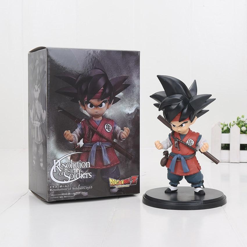 Auflösung von Soldaten ROS Dragon Ball Wukong KIND Goku Junge Sohn Gokou PVC Action Sammeln Abbildung Modell Spielzeug 15 cm