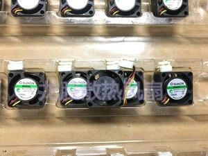 Image 2 - Sunon mini ventilador, 2cm 20mm mini ventilador MC20100V3 Q01U G99 5v 0.33w 20*20*10mm ventilador de refrigeração 3 pinos
