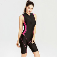 2017 Women Sport Swimsuits Competitive Swimming Suits Girls Racing Swimwear One Piece Swim Suit Sexy Long
