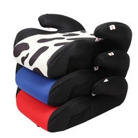 Portable Baby Kids Backless Safe Booster Children Travel Car Seat Cushion ergonomic design with Adjustable safty belt protection
