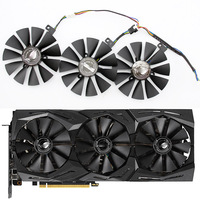 FreeShipping T129215SH T129215SL 12V 0.30A Fan size 87mm 3holes For ASUS ROG-STRIX-RTX 2070-O8G-GAMING Graphic Card Cooling Fan