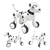 Intelligent RC Smart Dog Toy Remote Control Robot Dog Cat Pet Sing Dance Walking Wireless Talking Remote Control Kids Toy Gifts
