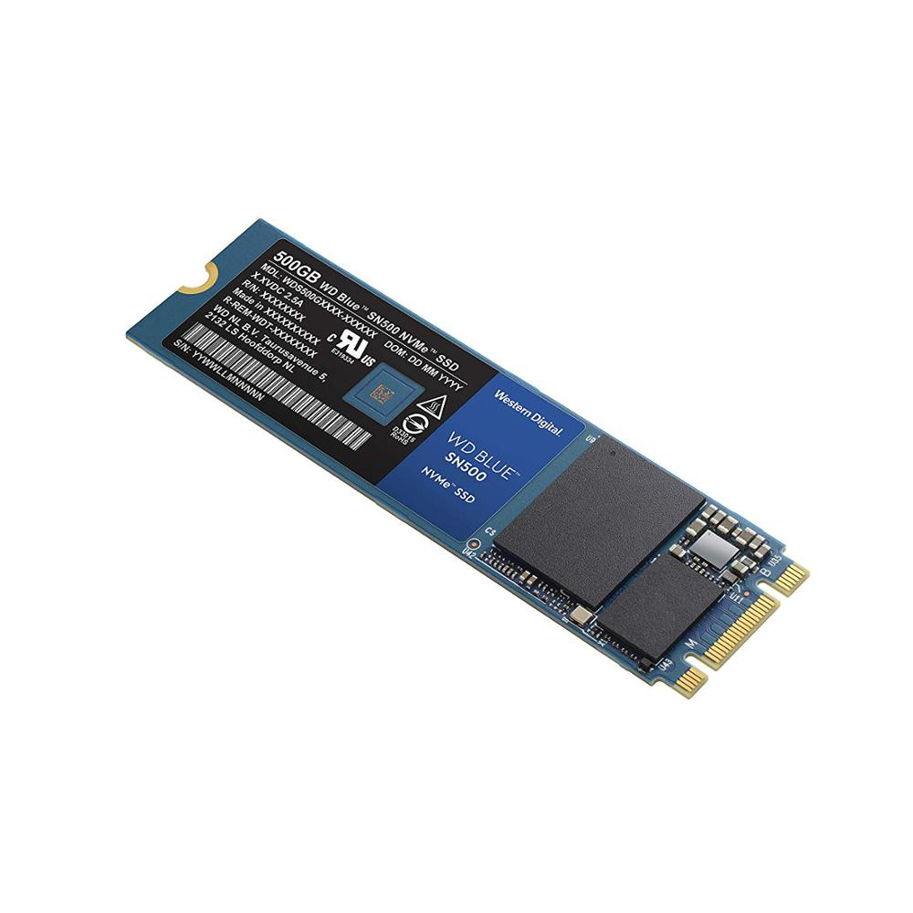 Western Digital Blue SN500 <font><b>SSD</b></font> Drive 250GB 500GB M.2 <font><b>2280</b></font> <font><b>NVMe</b></font> PCIe Gen3*2 Internal Solid State Drive For PC Free Shipping image
