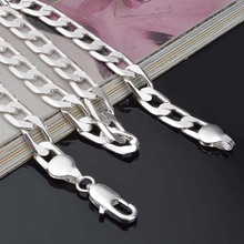 Men's 925 Solid Silver Chain