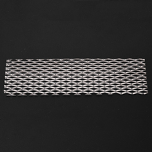1pc Recycled Metal Pure Titanium Mesh Sheet Electrode Strong Anti-corrosive Effect For Electrolysis 50mm*165mm