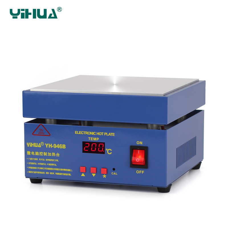 YIHUA-946B BGA Preheating Station Temperature Control PCB Preheat And Desoldering IR Preheating Station 853a bga constant temperature lead free preheating stations