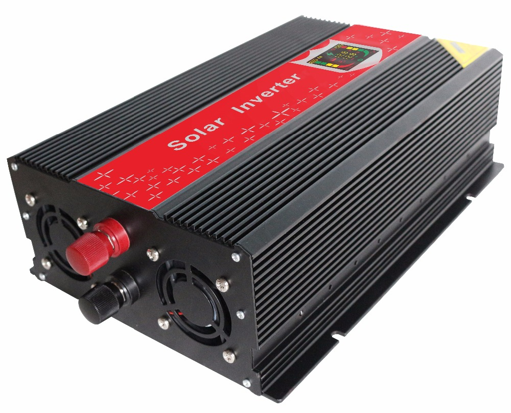 peak power 6000w solar inverter LCD show DC input 12v to AC output  220v 50hz continuous power 3000W modified sine wave inverter inversor senoidal 3000w 6000w peak 3000w pure sine wave power inverter 12v dc input 220 240v ac output 50hz for power tools