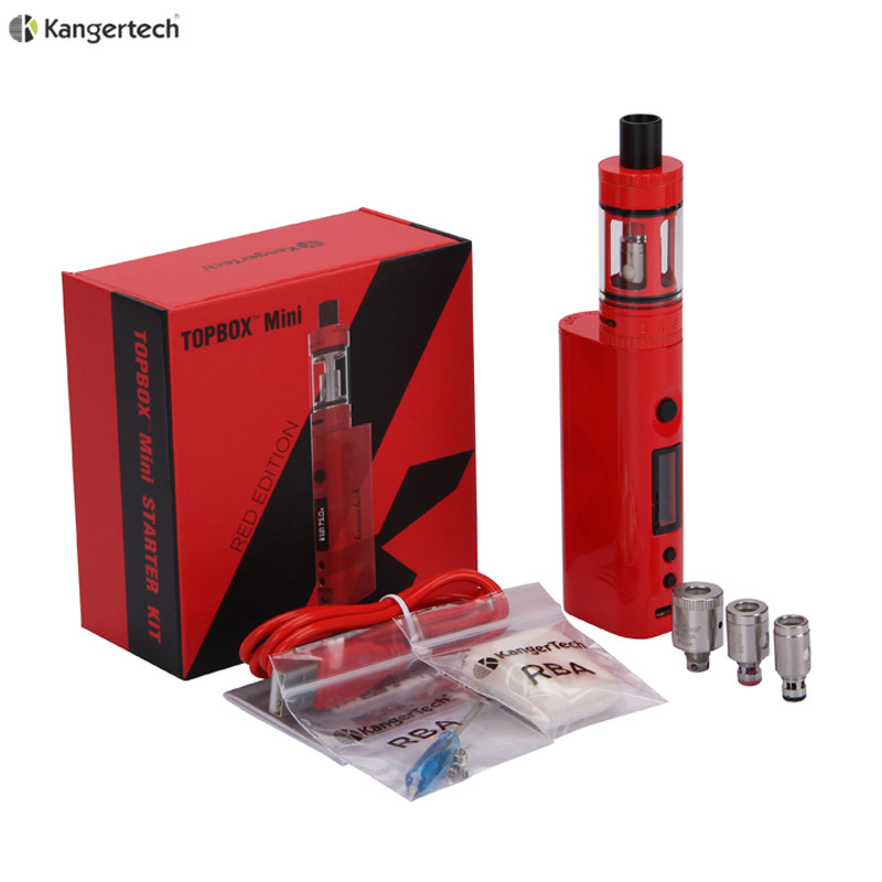 Original Kanger Topbox Mini Upgraded Subox Mini Starter kit 75W Subox Mini Pro Temperature Control Kit электронная сигарета kangertech subox mini c стальная