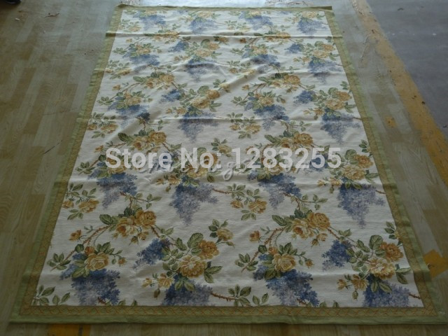 2014 Direct Selling Sale Freeshipping Alfombra Alfombras Styling Hand-stitched Needlepoint Rug 2024 6x9 & Lsquo; Carpets