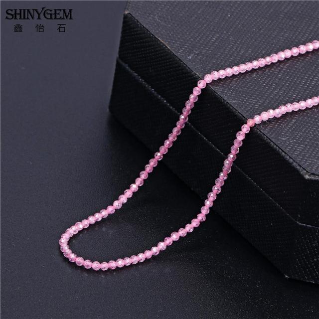 Shinygem 2/3 мм маленький натуральный циркон сверкающие круглые