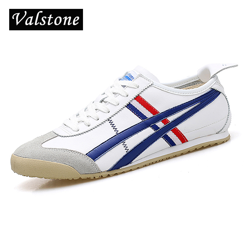 Valstone Men Genuine Leather shoes fashion leisure British style lace-up shoes round toe sneakers leather flats boat shoes white new style black triangle metal decoration fashion style pointed toe lace up men party nightclub men leather leisure shoes macho