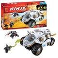 Bela 10523 ninjagoe titanium ninja tumbler juguetes de bloques de ladrillo conjunto boy juego compatible con lepin decool juguete 70588 niños