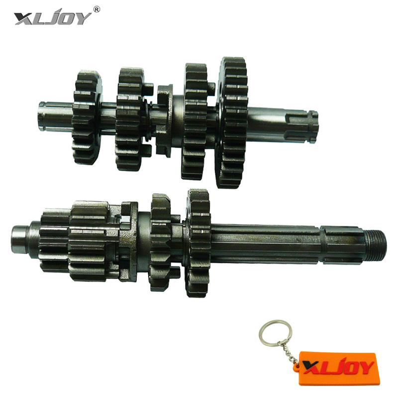 XLJOY Gear Box Main Counter Shafts For Zongshen Z155 155cc 1P60YMJ Pit Dirt Bike Thumpstar Explorer