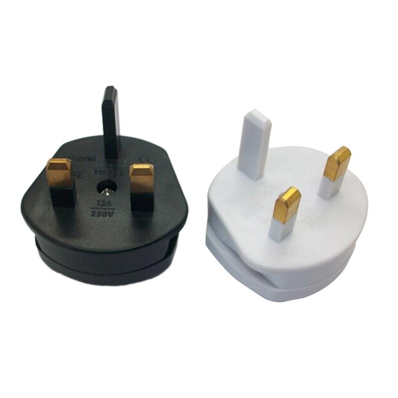 5PCS Multifunctional US to UK Plugs Adapter EU to UK Plugs Power Converter Plugs 2 Pin Socket US to UK Travel Adapter