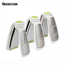 Double Sided multifunction grater, stainless steel melon planing, foreign trade three-dimensional cut is creative kitchen gadget