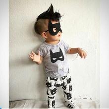 1a416828bbfd0 2019 été bébé garçon vêtements courtes manches barboteuse de bébé nouveau-né  vêtements Batman combinaison à motif nouveau-né vêt.