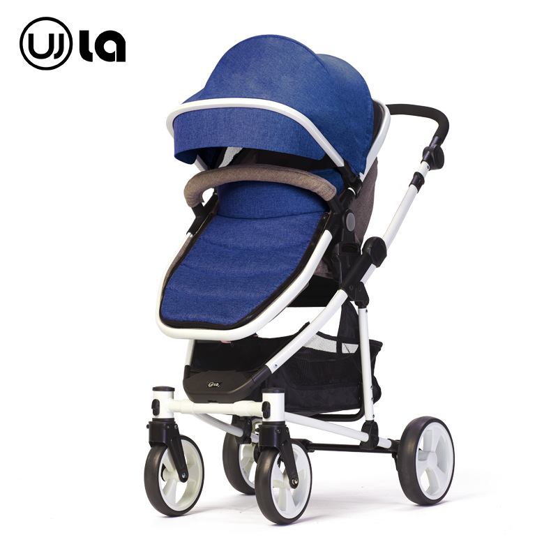 Baby Strollers High landscapes trolley can sit and lying baby strollers good quality baby pram restoring layered landscapes