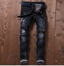 TR Brand design ripped font b jeans b font font b men b font size 29