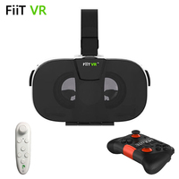 Fiit 2N VR 3D Glasses For IOS Android 4 0 6 5 Smartphones Bluetooth Remote Controllers