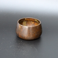 Pure copper Mini copper censer, playing with smoked incense burner, antique collection, decorative crafts.