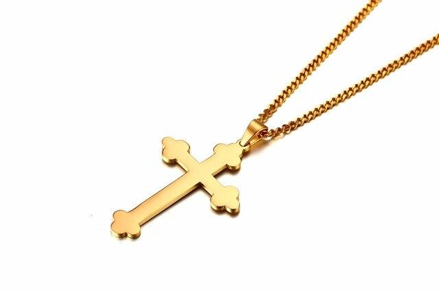 Купить модные мужские длинные ожерелья подвески из нержавеющей стали
