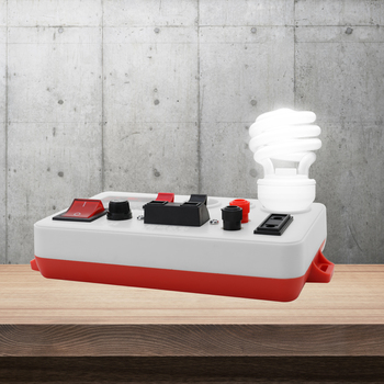 Pantalla Digital LED comprobador rápido medidor herramienta cuentas de luz para lámpara máquina de prueba