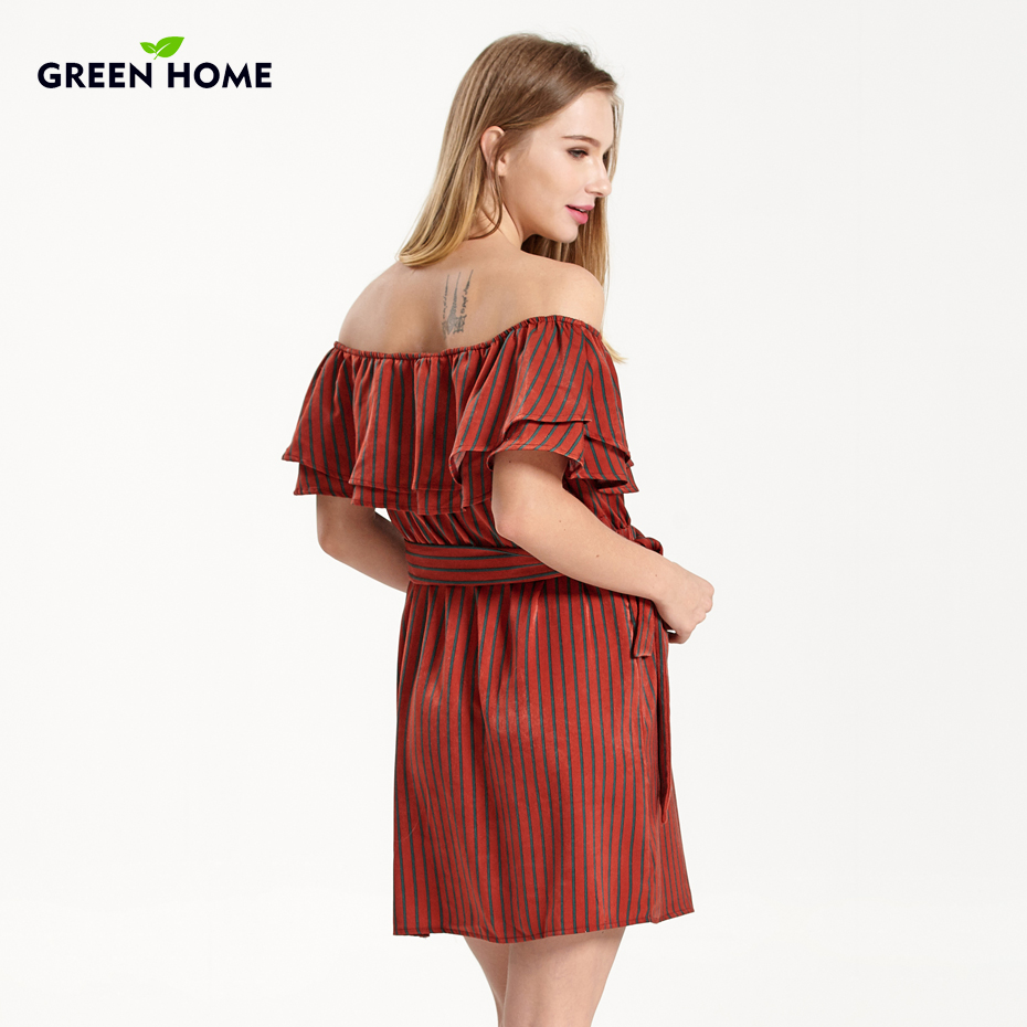 Green home maternity dresses sexy shoulderless for pregnant women green home maternity dresses sexy shoulderless for pregnant women breastfeeding nursing clothing striped summer maternity dress in dresses from mother ombrellifo Images