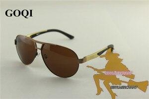 Image 5 - Óculos de sol polarizados unissex, óculos vintage para pesca, estilo vintage, gafas polarizadas, 2018 embalagem completa