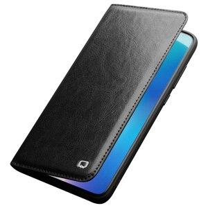 Image 3 - 100% Hakiki Deri Kılıf Için Xiaomi mi mi 9 100% dana Flip Deri Kılıf Için Xiaomi mi mi 9 mi 9 şeffaf Baskı Kapak