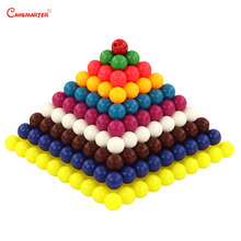 Maths Colored Bead Squares Montessori Materials Toys for Children Teaching Educational Games 1-10 Number Practice MA121-NX3
