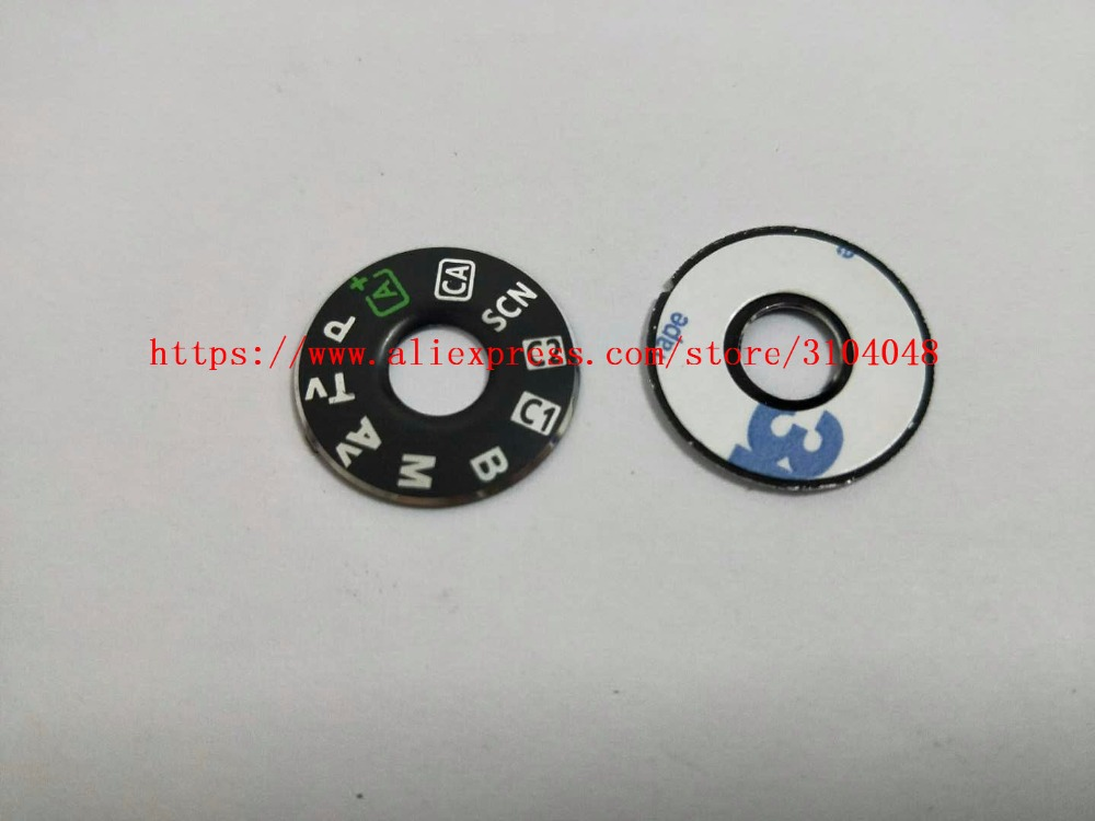 SLR Digital Camera Repair And Replacement Parts  6D Top Cover Mode Dial Signage For Canon