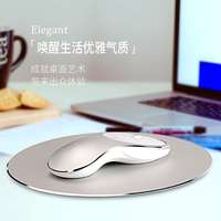 2017 new 2.4G wireless 1600dpi Aluminum alloy mute rechargeable mouse for male and female portable notebook game mouse