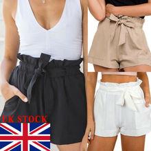 Лучший!  Британские женские шорты с завышенной талией Женские летние брюки размер 6 - 14