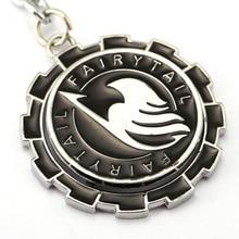 Fairy Tail Key Chain Rotatable Key Rings Holder