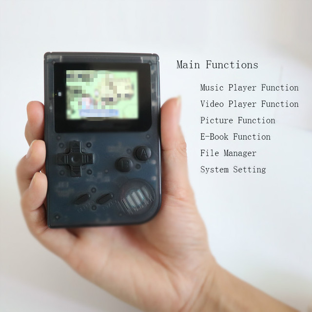 KaRue coolbaby Retro Video Game Console 32 Bit Portable Mini Handheld Game Players Classic Games Best Gift For Kids games