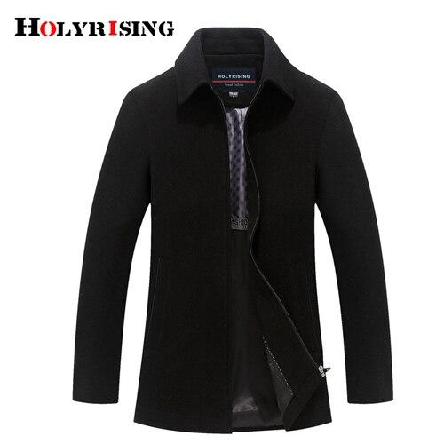 Holyrising Men's Wool Blend...