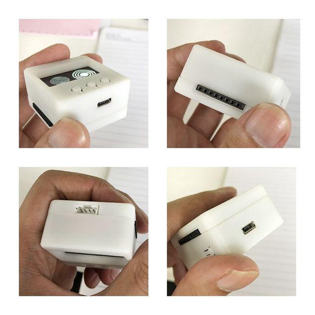 LILYGO®TTGO T-Hacker DIY BOX ESP8266 Wifi OLED Display Angriff Wetter Station Temperatur Feuchtigkeit Sensor Für PS4-WiFi