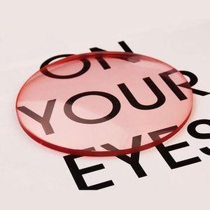 Image 2 - 1.61 Tinted Aspheric Prescription Lens Eye glasses Optical Lenses for Sunglasses Lenses Single Vision Sunwear Lens