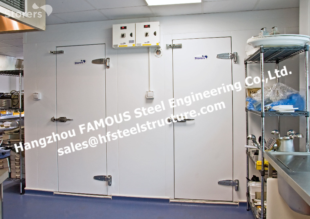 China Supply Walk In Freezer Room Cold Storage System And Thermal Insulated Cooler Room For Vegetables And Fruits