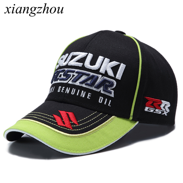 d6eb44f6093cc Motocross Riding Hats 3D Embroidered Wing F1 Racing Car Cap Motorcycle  Baseball Cap Snapback Sun Hat Men Women cap hat