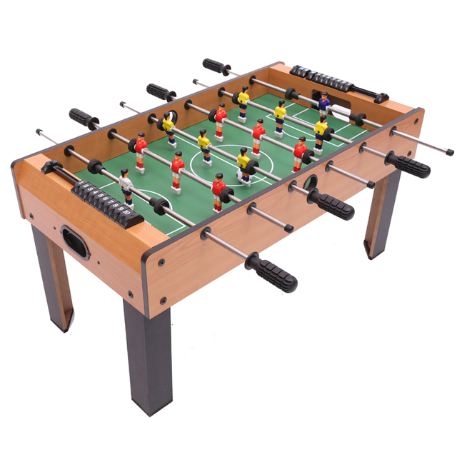 Delicieux FREE SHIPPING Table Soccer 6 Pole Bobby Childrenu0027s Game Football Table  Soccer Table Board Game
