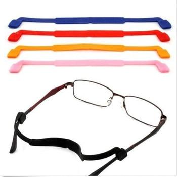 1PC Silicone Eyeglasses Glasses Sunglasses Strap Sports Band Cord Holder Anti Slip Strap Eyewear Accessories Men's Eyewear Accessories