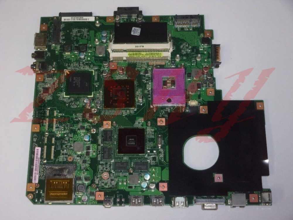 Для Asus N51VF Материнская плата ноутбука 60-NU1MB1200-A14 69N0CWM12A14-01 ddr2