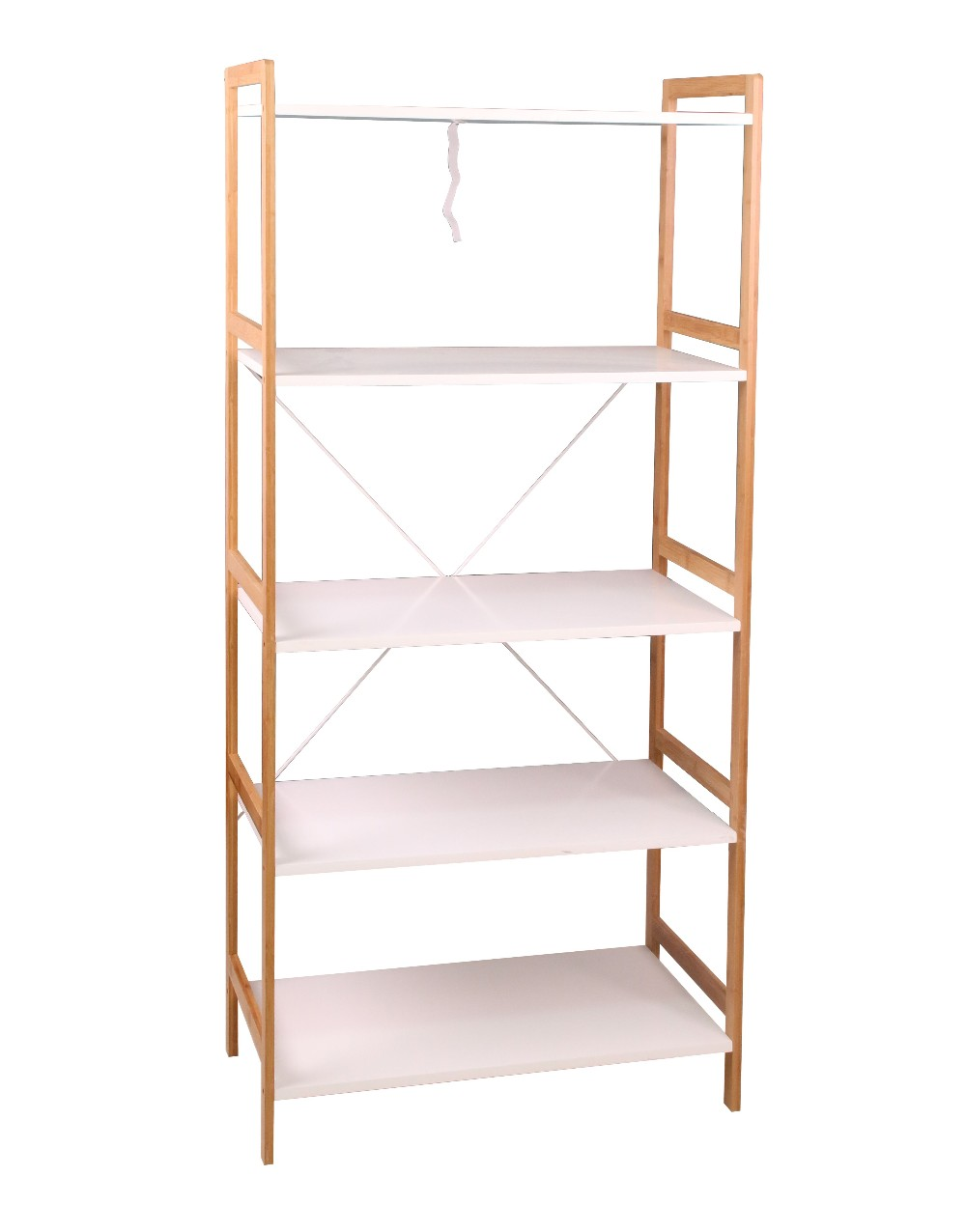 Aingoo High Quality Folding Bamboo Shoes Rack Bench 4 Tier
