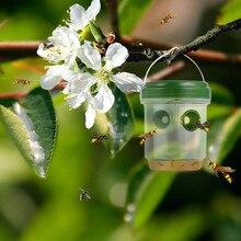 4 Pcs Wasp Trap Catcher Lebensdauer Outdoor Solar Powered Trap Mit Uv LED bequem und praktische Haushalts HEIßER Verkauf