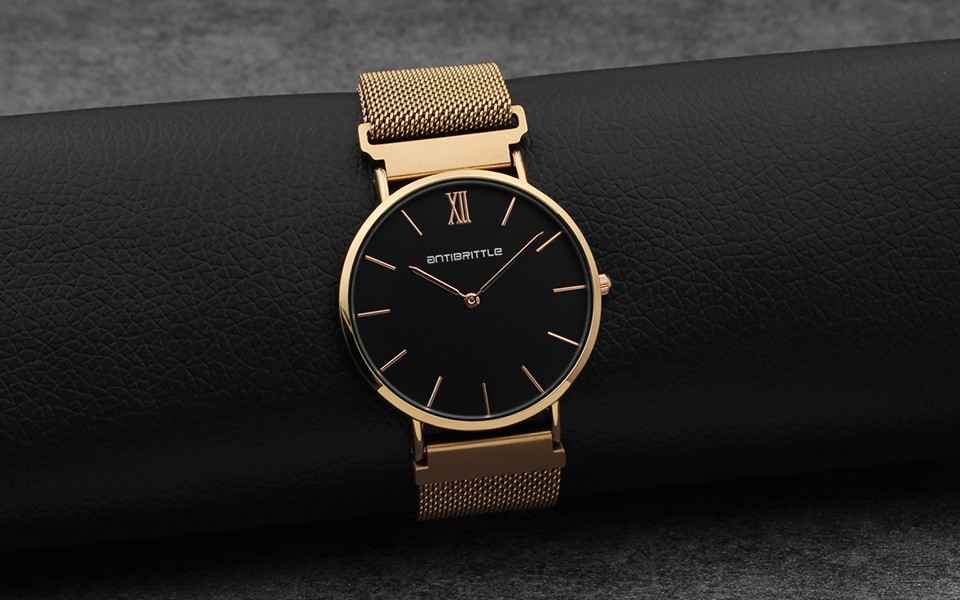 fashion new business wrist watches item steel luxury quartz chic stainless brand watch lady women crystal