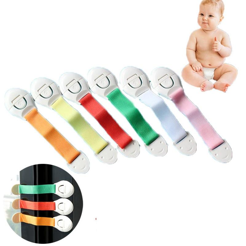 10pcs Child Kids Baby Cabinet Door Drawers Refrigerator Toddler Safety Locks Lot
