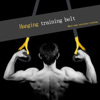 Belt Hanging With Pull Rope Fitness Male Strength Training Legs Home Equipment Female Anti Broken Arm Workout Equipments
