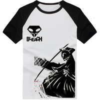[XHTWCY] free shipping 2019 New Fashion Men T shirt summer tee Bleach shirt Cosplay Costume Skull Logo casual shirts new