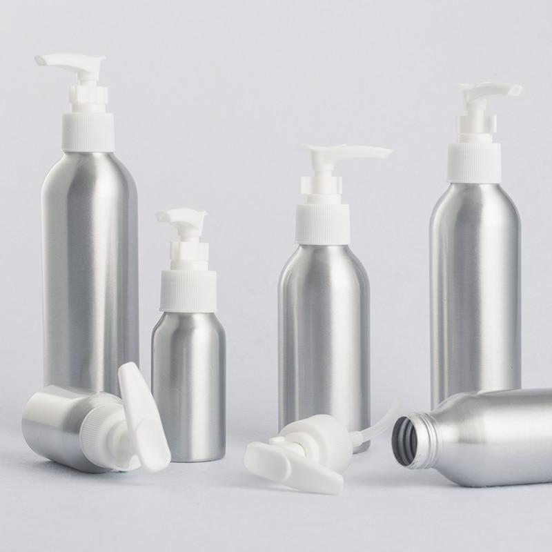40ml-250ml Aluminum Empty Bottle,Socket Pump Emulsion Bottle